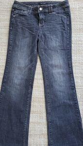 WHBM Black low waist jeans